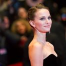 Actress Natalie Portman arrives for screening at 65th Berlinale International Film Festival in Berlin