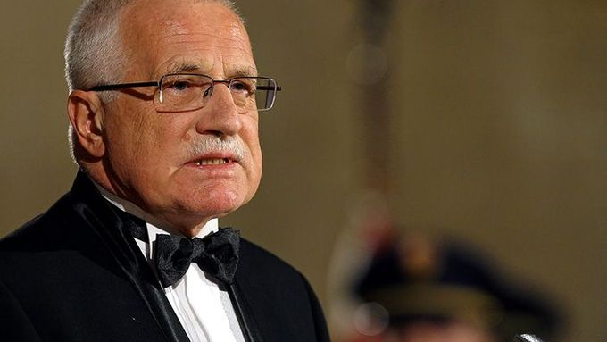 Václav Klaus sees EU integration as a hindrance to Czech emancipation.