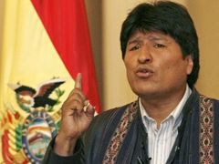 To prove his point Evo Morales chewed a coca leaf in front of the UN conference delegates