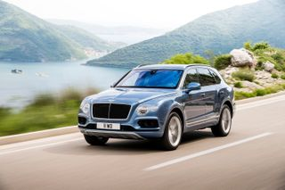 Top auta fotbalistů: Bentley Bentayga