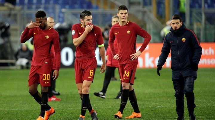 Schick nastoupil v základu, ale Římané podlehli AC Milán. Nedařilo se ani dalším Čechům