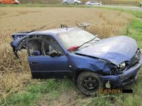 Při nehodě u Čáslavi zemřelo dítě, tři lidé jsou zraněni
