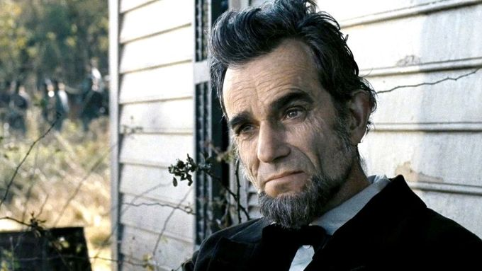 Daniel Day-Lewis jako Lincoln