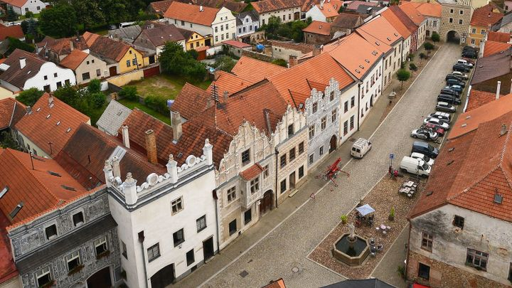Titul Historické město získaly Slavonice. Perlu západomoravské renesance zdobí sgrafitové fasády