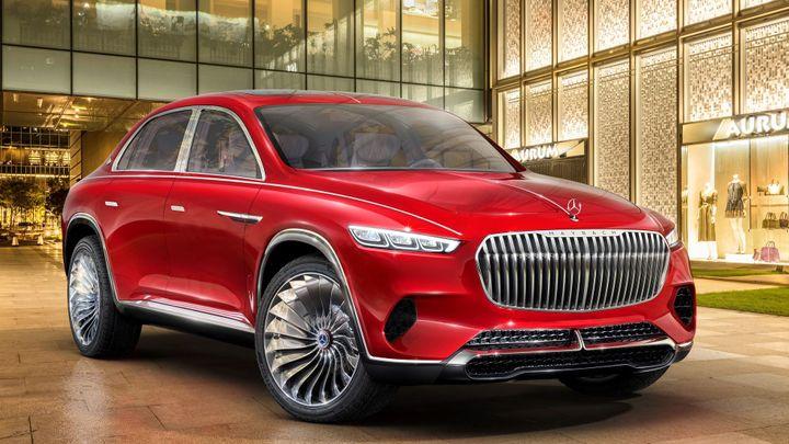 Mercedes představuje konkurenta pro terénní Rolls-Royce. Opulentní SUV má kufr jako sedan