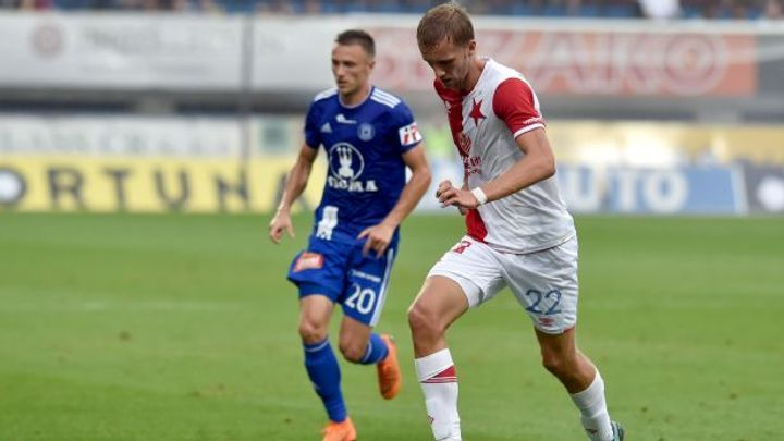 Slavia vstoupila do nového ligového ročníku razantně: po deseti letech vyhrála v Olomouci