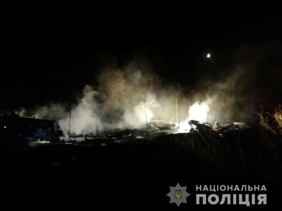 Na východě Ukrajiny se zřítil vojenský letoun.