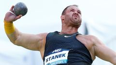 Diamond League - Brussels - Men's Shot Put - Tomáš Staněk