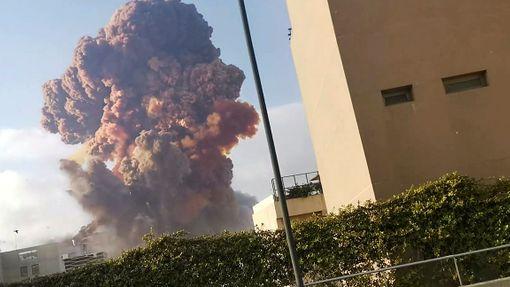 Výbuch v Bejrútu