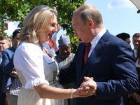 Rakousko je epicentrem ruské špionáže v Evropě. Putin na svatbě nebyl náhodou