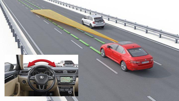 Co dokáže nová Škoda Superb. Řidič dostane další asistenty