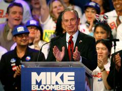 Starosta New Yorku Michael Bloomberg.