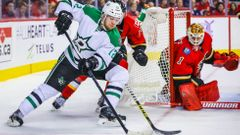NHL: Calgary Flames vs. Dallas Stars (Radek Faksa)