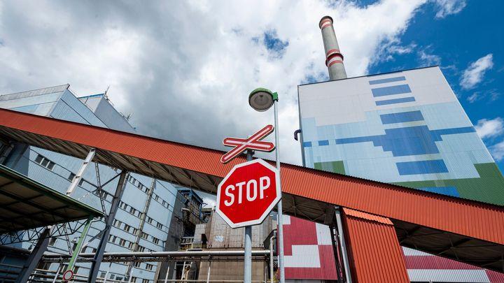 Na Chomutovsku končí provoz hnědouhelné elektrárny Prunéřov I, fungovala 53 let
