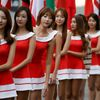 F1, VC Koreje 2013: grid girls