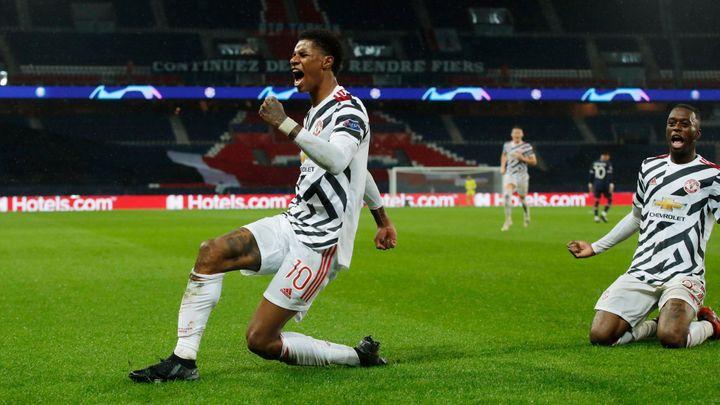 Manchester United překvapil loňského finalistu LM, rozhodl v závěru Rashford