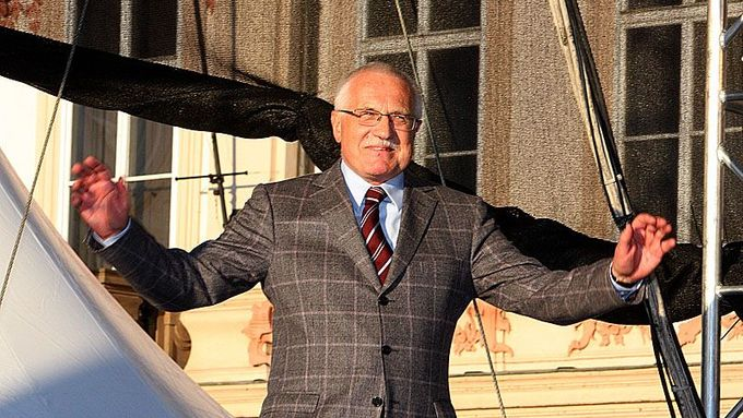 "Václav Klaus maintains that the current crisis is ""nothing unusual""."