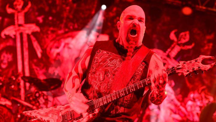 Kapela Slayer se v Praze rozloučila s démonickou scénou a šlehajícími plameny