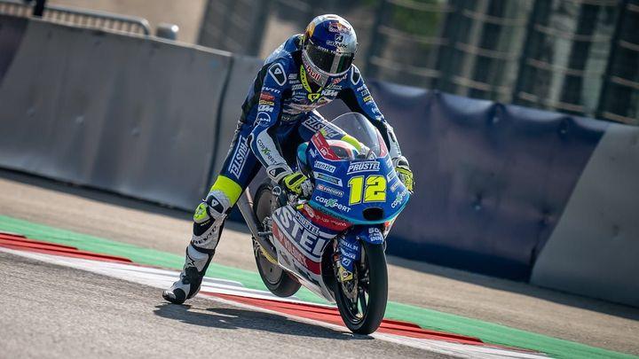 Velká cena Aragonie skončila pro Salače pádem, závod nedokončil; Zdroj foto: CarXpert Prüstel GP
