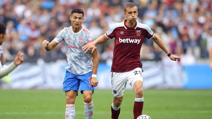 Souček je stínem. Může za to Moyesova nová taktika, bojí se fanoušci West Hamu; Zdroj foto: Reuters