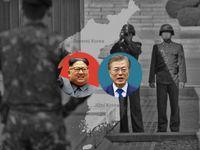 Grafika: Kim překročí hranici dvou světů, jede poprvé na jih. Den D pro Koreu začíná