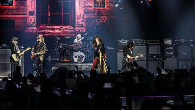 Kapela Aerosmith oslaví padesátiny, v červnu 2020 zahraje v Praze