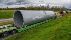 Hyperloop tubus