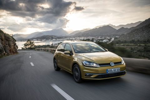 VW Golf facelift 2017