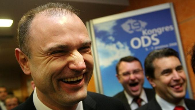 Happy as ever, Interior Minister Ivan Langer