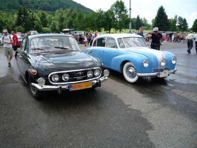 Foto: Tatra oslavila 120 let veteránskou rallye. K vidění byla první i poslední modelová řada