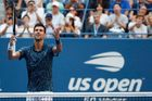 Novak Djokovič na US Open