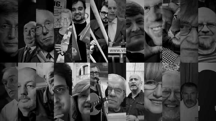 Ti, které jsme ztratili. Covidu v Česku podlehli umělci, politici i vědci