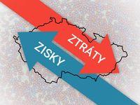 Proměněná republika: Zisky a ztráty na mapě Česka. Kde získal Babiš a Okamura, kde ztratila ČSSD