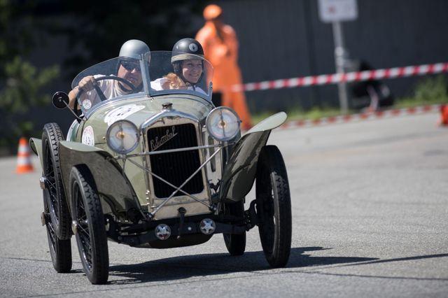 Sénéchal, sportovní cyclecar vlastněný a řízený Karlem Kupkou.