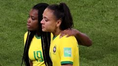 Women's World Cup - Round of 16 - France v Brazil