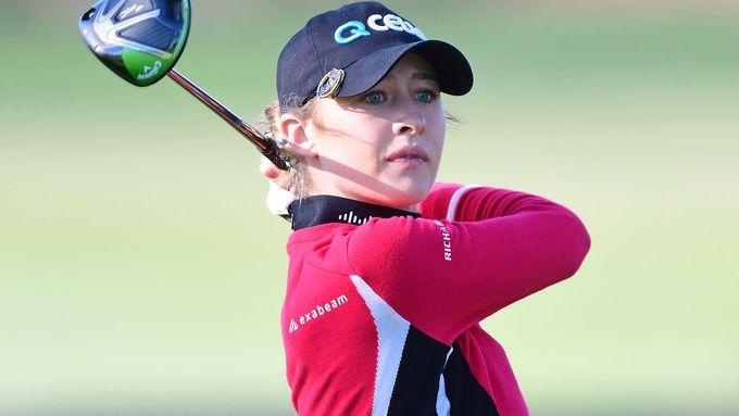 Nelly Kordová navázala na sestru Jessicu. Vyhrála golfový turnaj v Orlandu