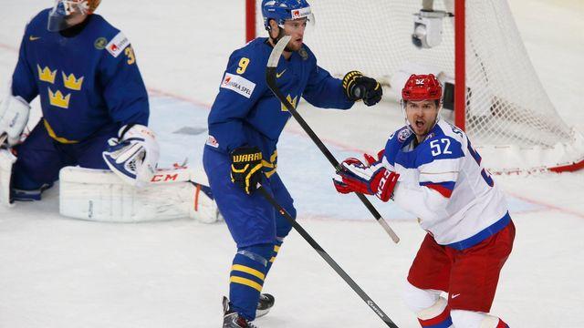 82230b0f368a4 Švédové smázli Rusy a mají v Channel One Cupu první vítězství ...