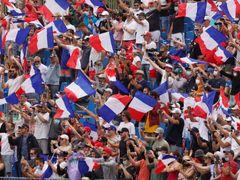 Diváci v hledišti Velké ceny Francie F1 2021