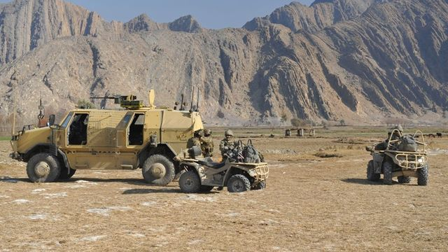 Czech soldiers in Afghanistan