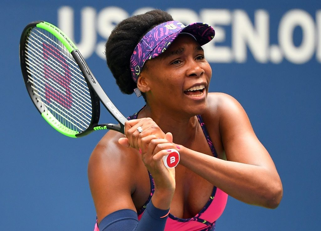 US Open 2018, vedro (Venus Williamsová)