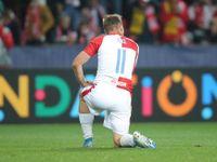 První konfrontace s Barcelonou nedopadla dobře, mladíci Slavie schytali čtyři góly