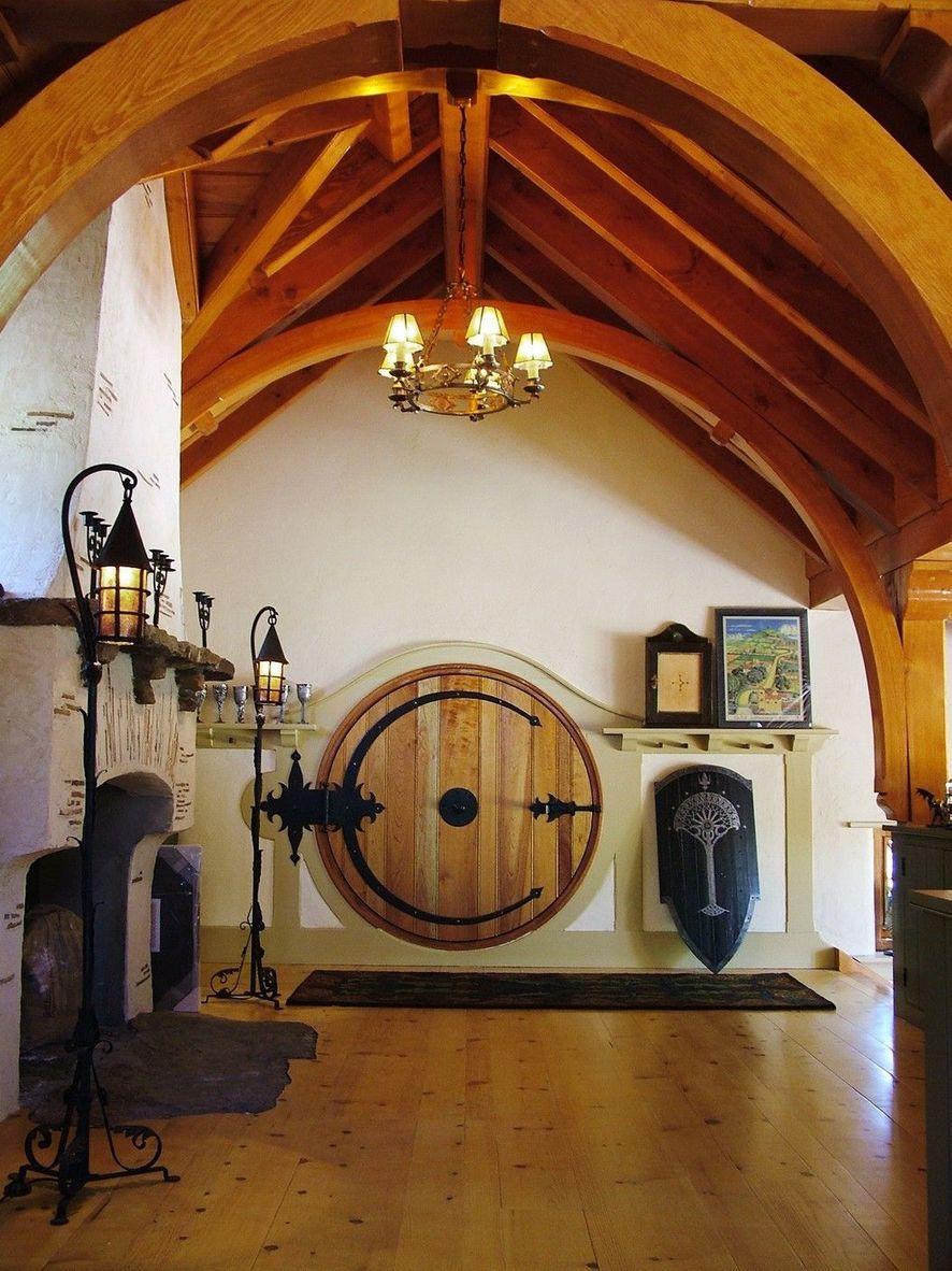 Gi Room Design: Vášnivý Fanoušek Tolkiena Si Postavil Hobití Dům Se Všemi