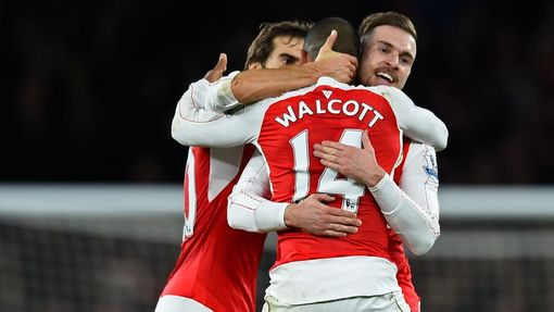 Arsenal-Manch. City: radost Arsenalu