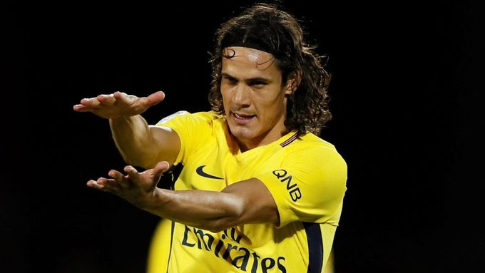 Edinson Cavani (Paris St Germain).