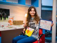 Čtrnáctiletá Češka vydala tři úspěšné knihy. Peníze odmítla