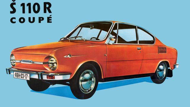 Ilustračný obrázok - Škoda 110 R Coupe