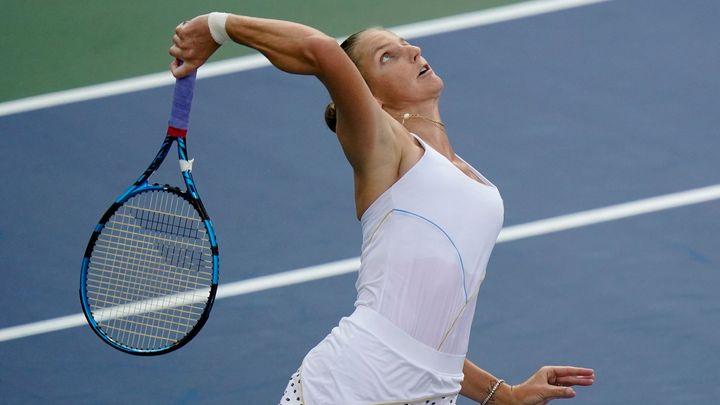 Další smršť es. Plíšková působivě vyřídila Australanku a je v osmifinále US Open; Zdroj foto: ČTK