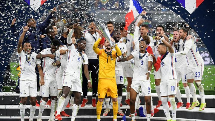 Francouzi vydřeli proti Španělům obrat a ovládli druhý ročník Ligy národů; Zdroj foto: Reuters
