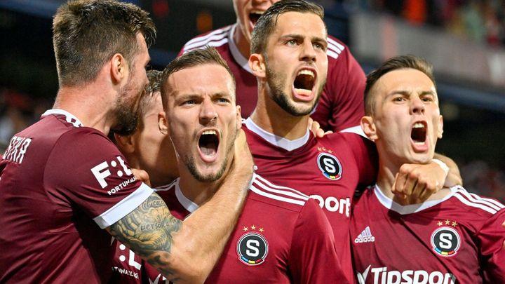 Sparta po pěti a půl letech vyhrála derby, Slavia v lize prohrála po 54 zápasech; Zdroj foto: ČTK