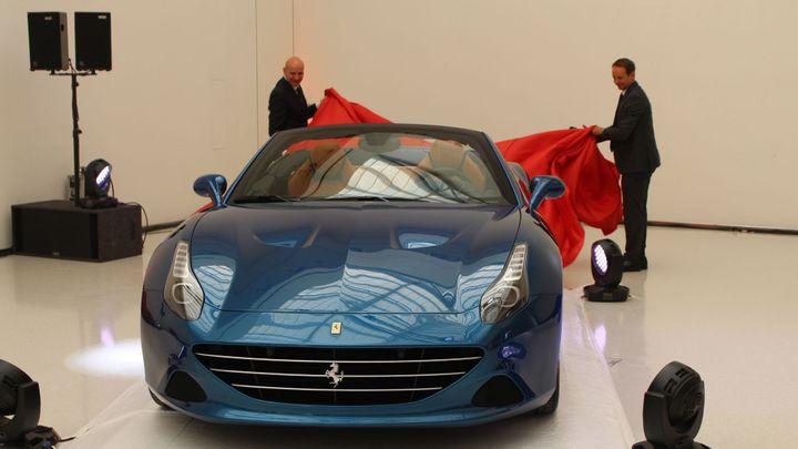 Ferrari California T je už v prodeji. Turbo přidalo koně